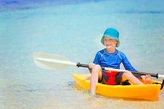 Enfant aux vacances Photographie stock