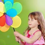Enfant avec le jouet Images libres de droits
