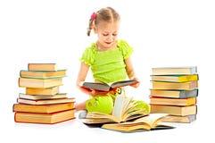 Enfant avec le livre Images libres de droits