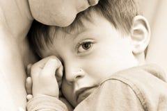 Enfant bouleversé Photo stock