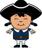 Enfant colonial illustration de vecteur