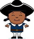 Enfant colonial illustration libre de droits