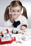 Enfant confus Photographie stock libre de droits