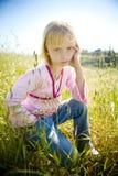 Enfant contrarié Photo libre de droits