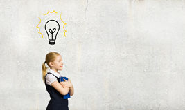 Enfant d'école Image libre de droits
