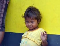 Enfant d'Aeta Photo stock