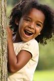 Enfant d'Afro-américain photo stock