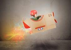 Enfant d'aviateur photos stock