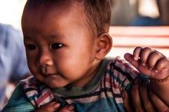 Enfant dans Pakse images libres de droits