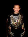 Enfant dans un costume Image libre de droits