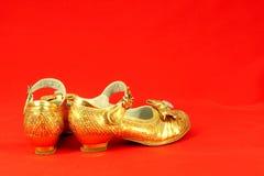 Enfant de chaussures Image stock