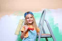 Enfant de construction Images libres de droits