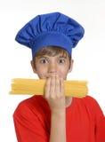Enfant de cuisinier. Image stock