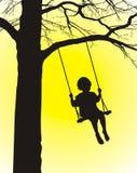 Enfant de culbuteur Photos libres de droits