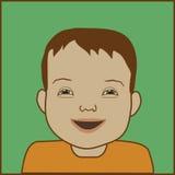 Enfant de Down Syndrome Photos libres de droits