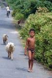 Enfant de fille en Inde Image stock