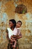 Enfant de fille en Inde Images stock