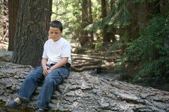 Enfant de forêt Images libres de droits