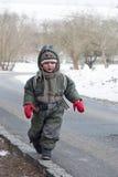 Enfant de l'hiver Photos libres de droits
