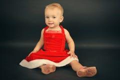 Enfant de Noël Photographie stock libre de droits