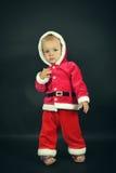 Enfant de Noël Images libres de droits