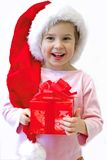 Enfant de Noël Image libre de droits