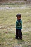Enfant de pauvres Image stock