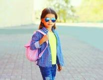 Enfant de petite fille de portrait de mode photos libres de droits