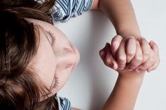 Enfant de prière photo libre de droits