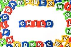 Enfant de puzzle Photographie stock libre de droits