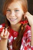 Enfant de roux Photographie stock libre de droits
