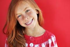 Enfant de roux Image libre de droits