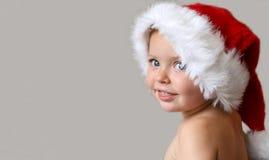 Enfant de Santa Image libre de droits