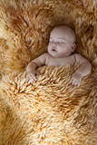 Enfant de sommeil Images libres de droits