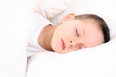 Enfant de sommeil Photographie stock libre de droits