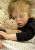 Enfant de sommeil Photo libre de droits
