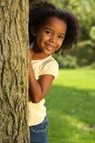 Enfant de sourire espiègle Image libre de droits