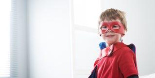 Enfant de super héros photo libre de droits
