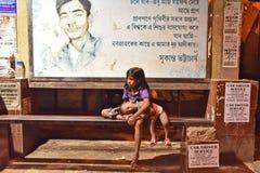Enfant des rues Image stock