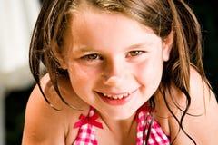 Enfant doux de sourire d'été Photographie stock libre de droits