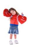 Enfant du jour de Valentine. Photo stock