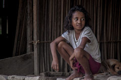 Enfant du Timor oriental Image stock