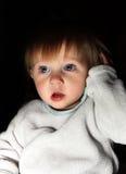 Enfant effrayé photographie stock libre de droits