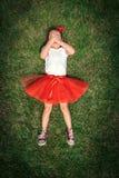Enfant effrayé d'ittle Image libre de droits