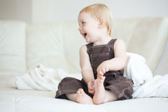 Enfant en bas âge Photo libre de droits