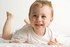 Enfant en bas âge adorable images stock