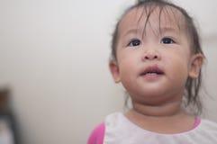 Enfant en bas âge asiatique de fille Images stock