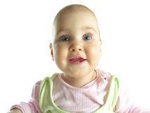 Enfant en bas âge avec quatre teeths Photographie stock