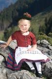 Enfant en bas âge bavarois image libre de droits