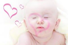 Enfant en bas âge d'amour Photographie stock